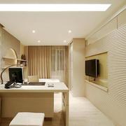10平米现代简约风格书房设计效果图赏析