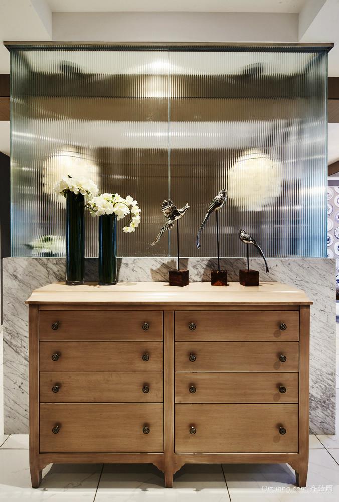 后现代风格三居室室内玄关设计效果图鉴赏