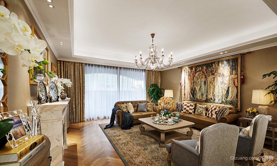 巴洛克风格别墅客厅装饰画设计效果图赏析