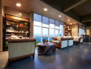 简欧风格咖啡厅装修效果图赏析