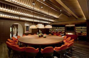 90平米东南亚风格餐厅装修效果图鉴赏