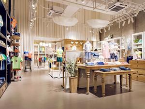 156平米现代风格儿童服装店装修效果图鉴赏