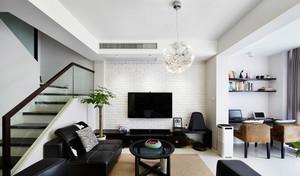 后现代风格小复式楼客厅装修效果图赏析