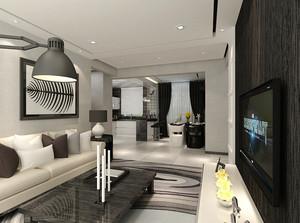 60平米北欧风格小户型室内装修效果图鉴赏