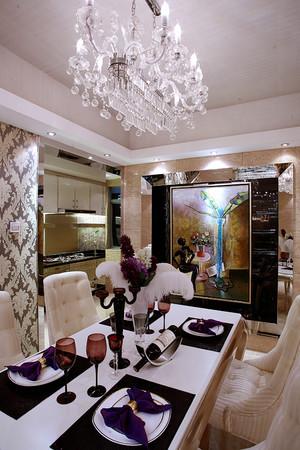 新古典风格别墅餐厅吊灯装修效果图赏析