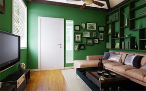 精致东南亚混搭风格小户型室内装修效果图案例