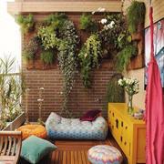 东南亚风格大户型室内阳台花园装修效果图