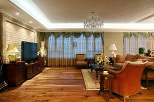 现代简约欧式风格两室两厅一卫装修效果图