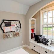 欧式风格大户型室内飘窗装修效果图