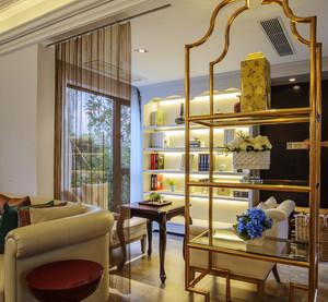 欧式田园风格三室两厅室内装修效果图赏析