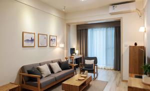 60平米日式风格小户型室内装修效果图赏析