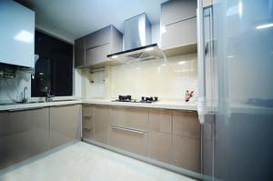 110平米现代简约风格整体厨房装修效果图赏析