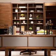新中式风格三居室书房装修设计效果图鉴赏