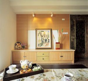 152平米日式风格客厅玄关设计效果图赏析