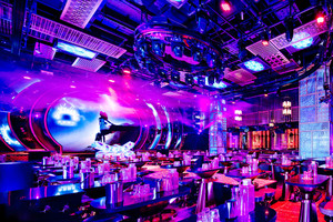 56平米现代风格酒吧设计装修效果图