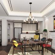 19平米现代风格餐厅装修设计效果图赏析