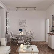 北欧风格小户型餐厅背景墙装修设计效果图鉴赏