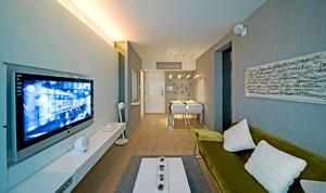 50平米现代简约风格室内装修效果图赏析