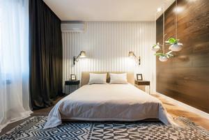 12平米现代简约风格卧室装修效果图
