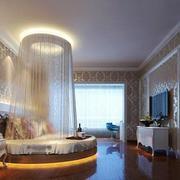 精致典雅欧式风格大户型主卧室装修效果图