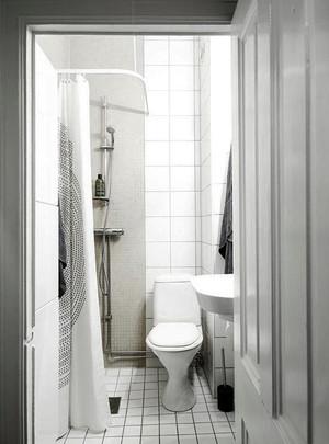 现代简约风格小卫生间装修效果图赏析