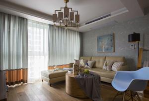 80平米现代简约风格室内装修效果图鉴赏