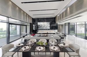 465平米现代欧式风格别墅室内装修效果图鉴赏