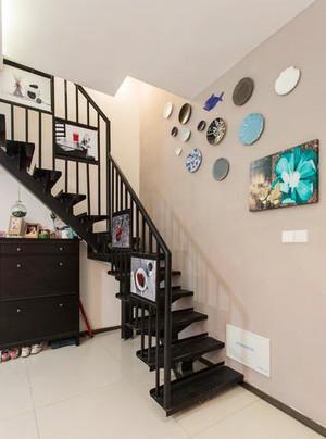 89平米现代简约风格复式楼楼梯装修效果图