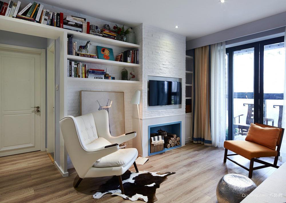 北欧风格整体客厅装修效果图赏析