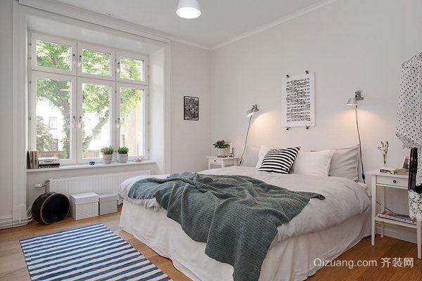10平米北欧自然风格卧室装修大全