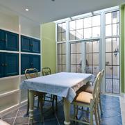 53平米地中海风格餐厅装修设计效果图鉴赏