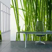 现代风格时尚创意3D餐厅背景墙装修效果图