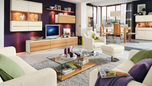 现代简约风格客厅电视组合柜装修效果图大全