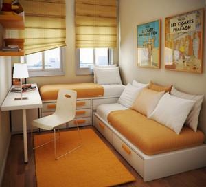 6平米现代简约风格创意儿童房装修效果图赏析