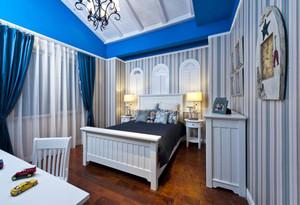 地中海风格三居室儿童房装修效果图赏析
