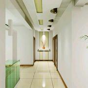 现代简约风格小户型室内过道吊顶装修效果图