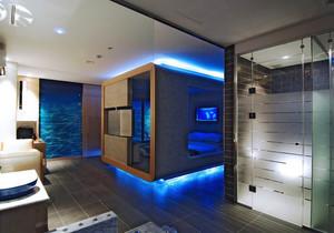 韩式风格三居室室内装修效果图