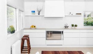 简欧风格白色整体厨房装修效果图大全