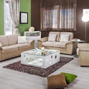 现代简约风格小户型客厅窗帘装修效果图赏析