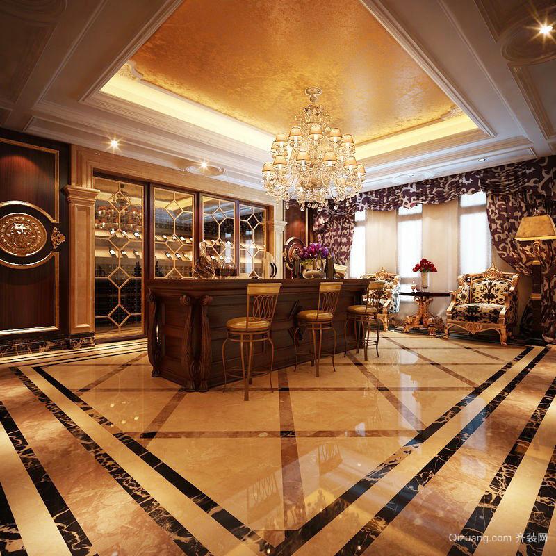 古典欧式风格豪华别墅室内装修效果图鉴赏