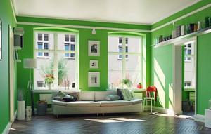 清新自然风格两居室室内客厅装修效果图赏析