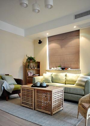 简约温馨日式风格三室两厅一厨一卫装修效果图赏析