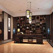 155平米古典中式风格书房装修效果图赏析
