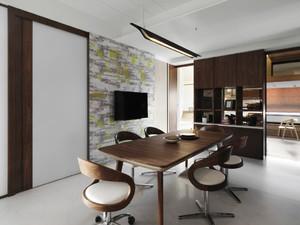 120平米现代风格原木风室内装修效果图赏析