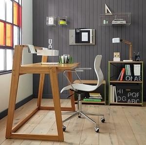 现代极简主义风格创意小书房效果图大全