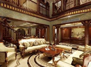 新中式风格别墅室内整体装修效果图赏析
