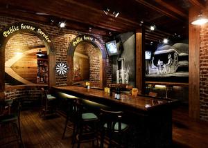 180平米古典美式风格酒吧装修效果图鉴赏