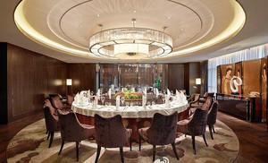 100平米新中式风格酒店包厢装修效果图赏析