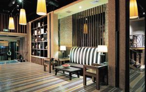 新中式混搭风格咖啡厅装修效果图赏析