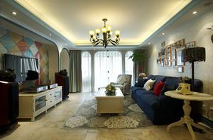 精致地中海风格大户型室内装修效果图赏析